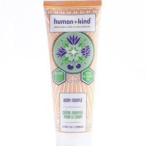 Human kind body slouffle cream